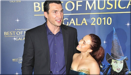 Владимир Кличко и Хайден Панеттьери на Best of Musical Gala 2010