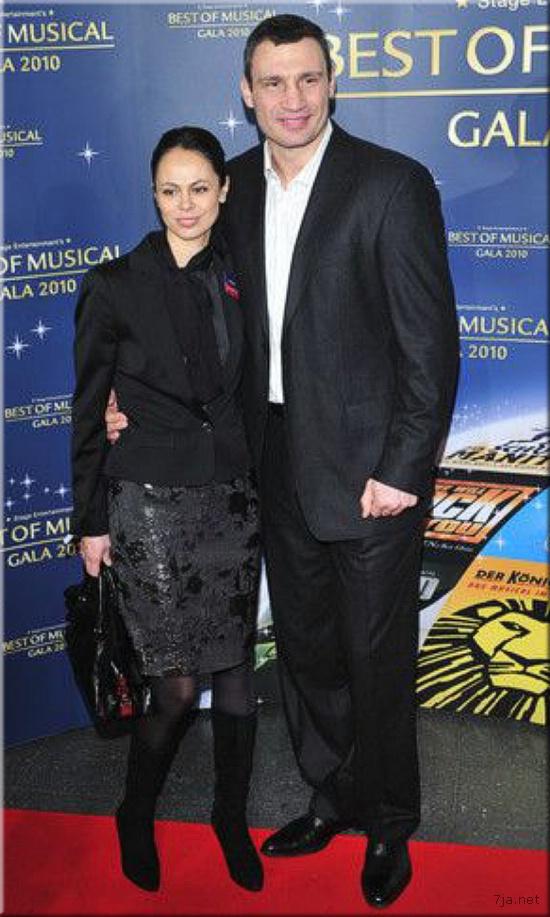 Виталий Кличко с женой на Best of Musical Gala 2010