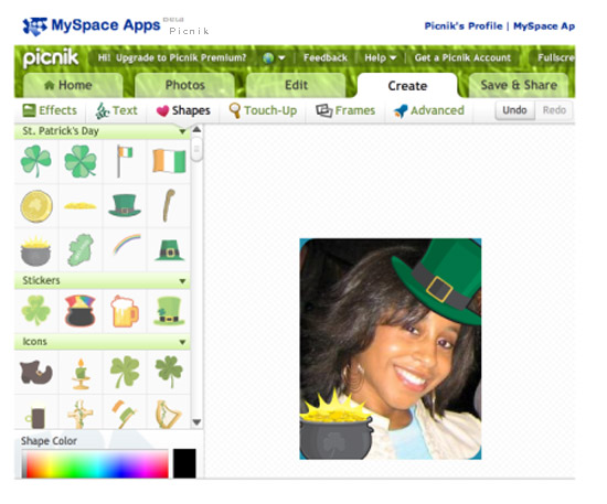 Picnik is an innovative tool that brings the online photo editing much