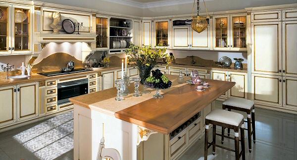 Фабрика: Ca'd'Oro Серия: Итальянская кухня в классическом стиле Fortuna Gold.