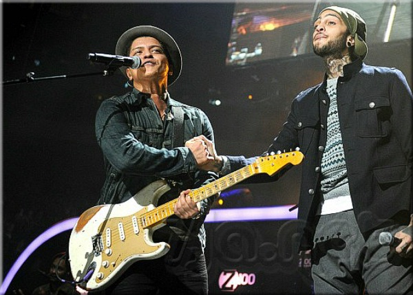 Bruno Mars and Travie McCoy