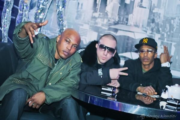 Нью-йоркская группа ONYX оторвалась в киевском клубе