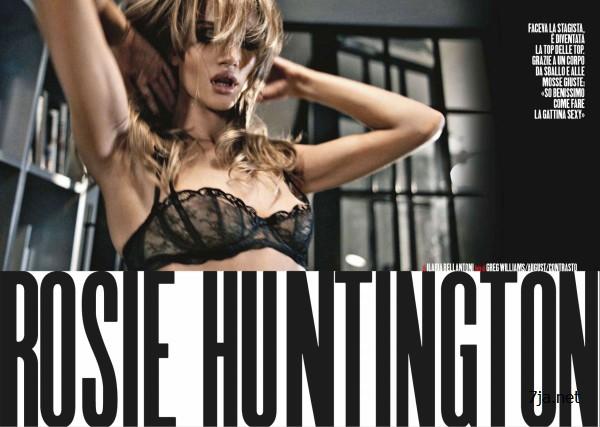 Рози Хантингтон-Уайтли показала попку в журнале Max