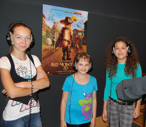 Племянница Александра Жеребко озвучила роль в мультфильме