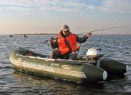 Рыбалка с надувной лодки Барк