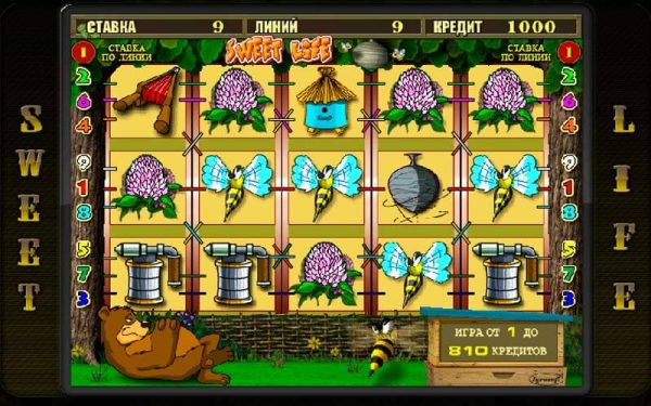 игровой автомат Sweet Life