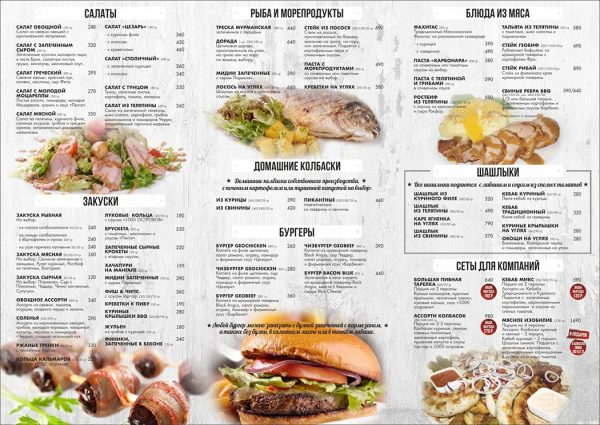 Что такое ABC анализ меню ресторанов и кафе