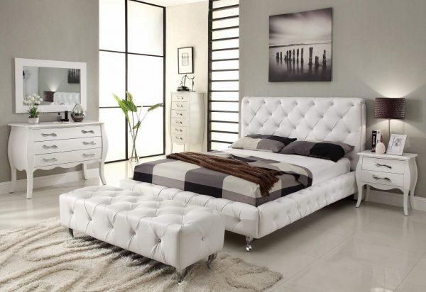 Как выбирать декор для белой спальни