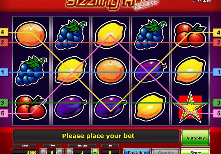 Sizzling Hot – один из самых популярных слотов в казино Вулкан Россия