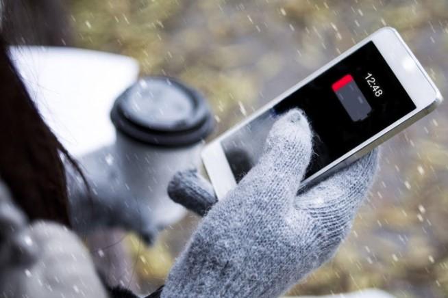 Влияет ли мороз на работу телефона?