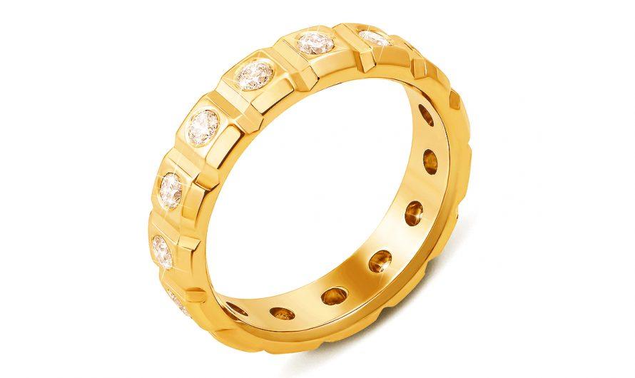 Как хранить мужские кольца с бриллиантами